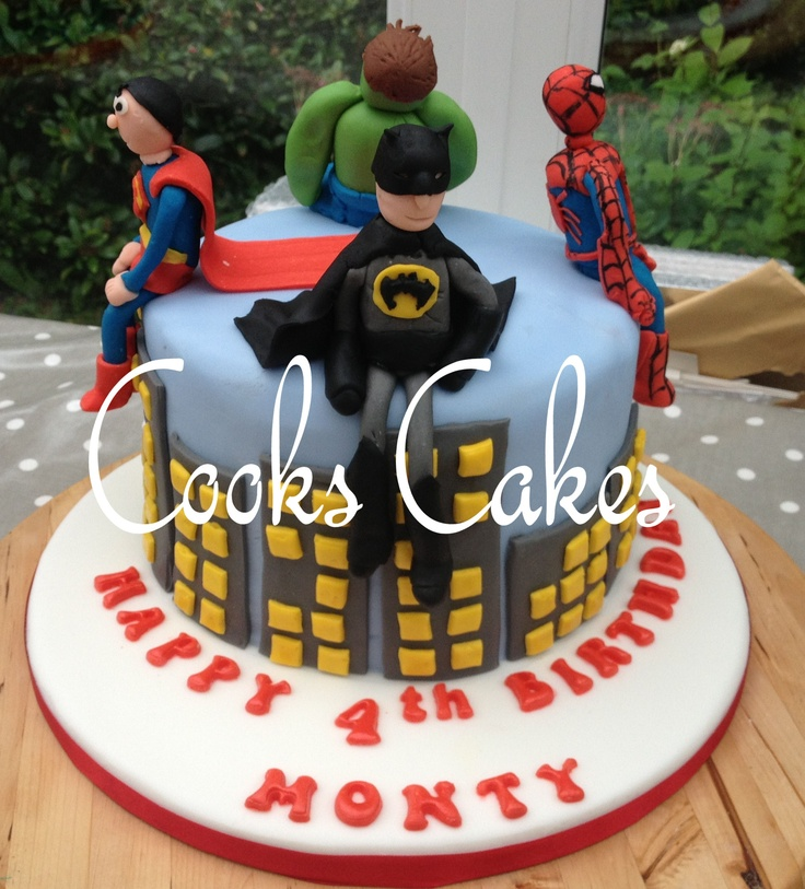 4 Year Old Boy Birthday Cake