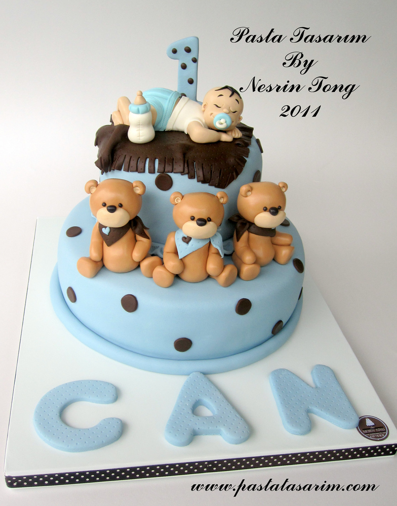 11 Babies First Birthday Cakes Utah Photo Peek A Boo Baby First TV