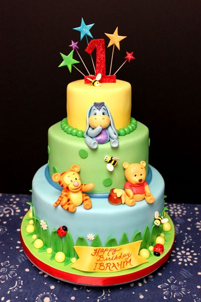 Remarkable 9 Winnie The Pooh Birthday Cakes For Tweens Photo Baby Winnie Funny Birthday Cards Online Alyptdamsfinfo