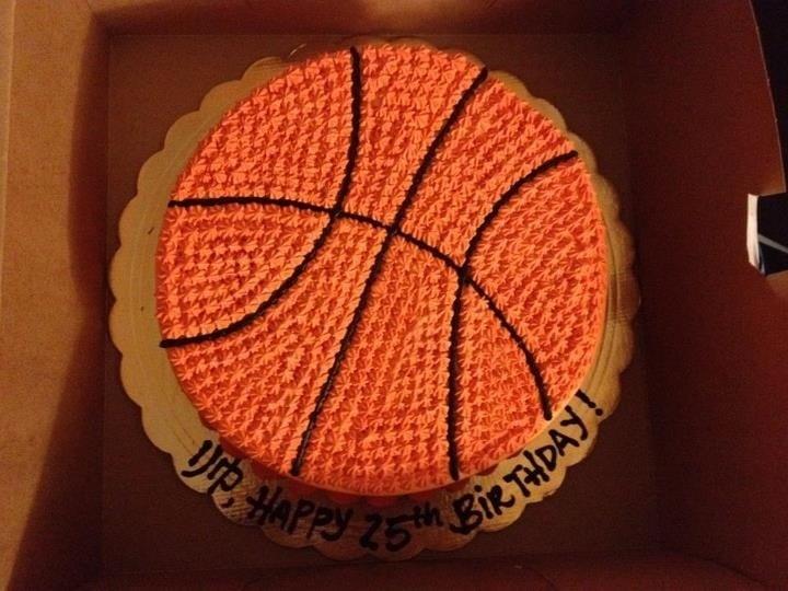 8 Photos of Cakes Shaped Like A Basketball