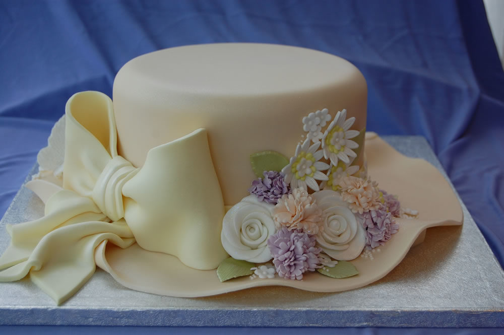 12 Cool Hat Birthday Cakes Photo 40th Birthday Cake Birthday Cake