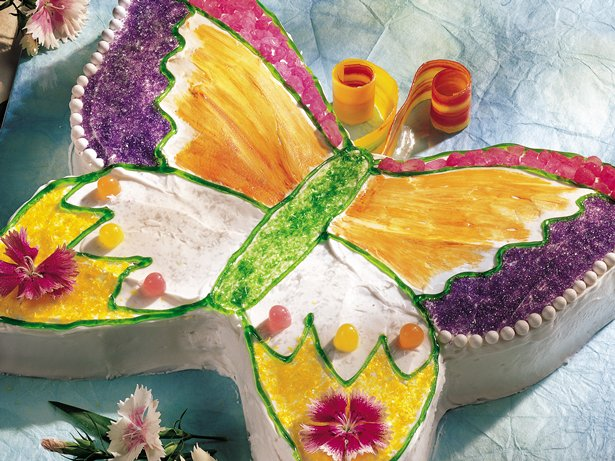 Butterfly Cut Up Cake