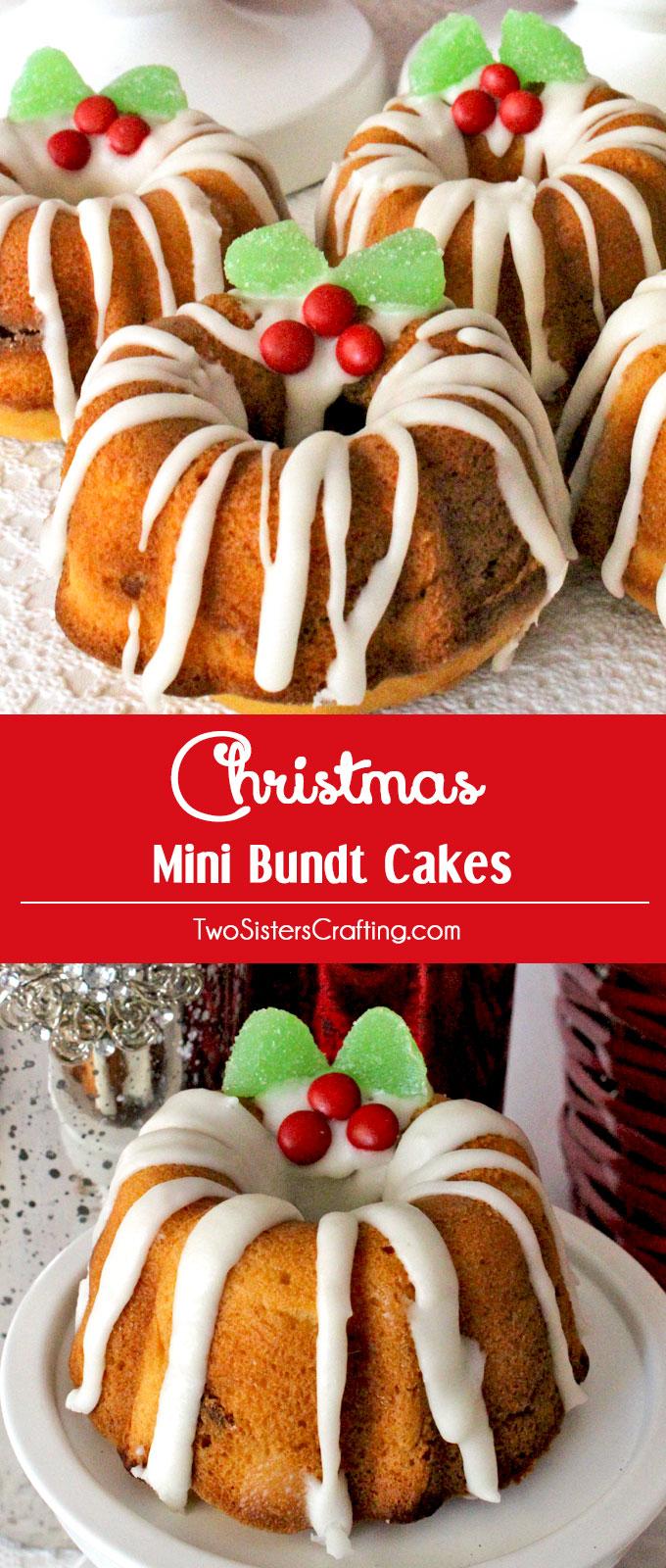 Christmas Mini Bundt Cake Ideas