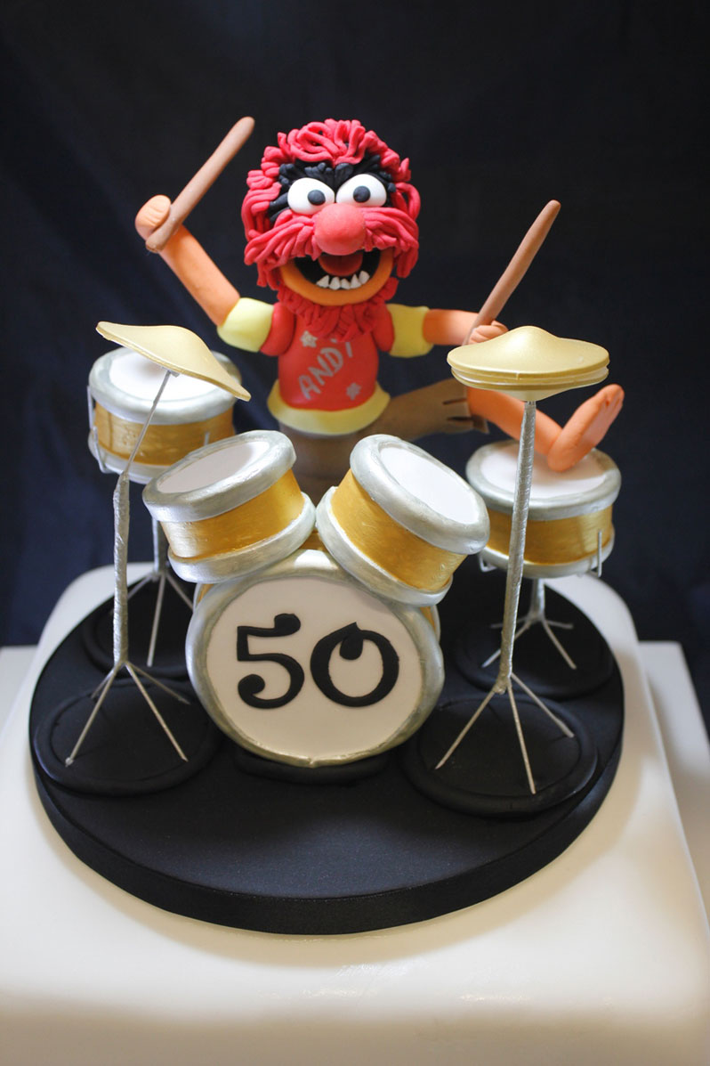 Fine 12 Mike Drum Set For Birthday Cakes Photo Drum Set Cake Drum Personalised Birthday Cards Veneteletsinfo