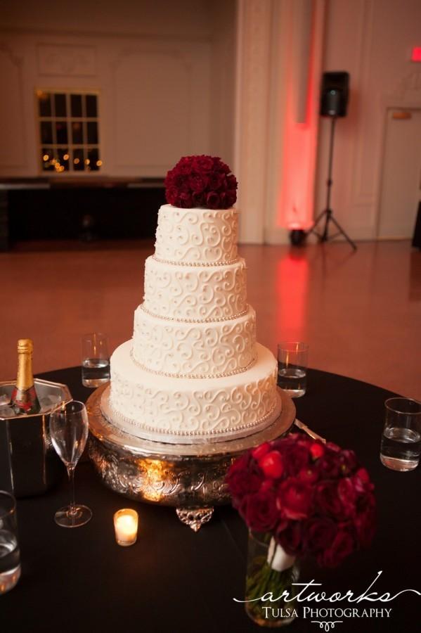 6 Romantic Wedding Cakes Tulsa Photo French Romantic Wedding Cake