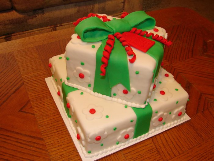 happy christmas birthday cakes