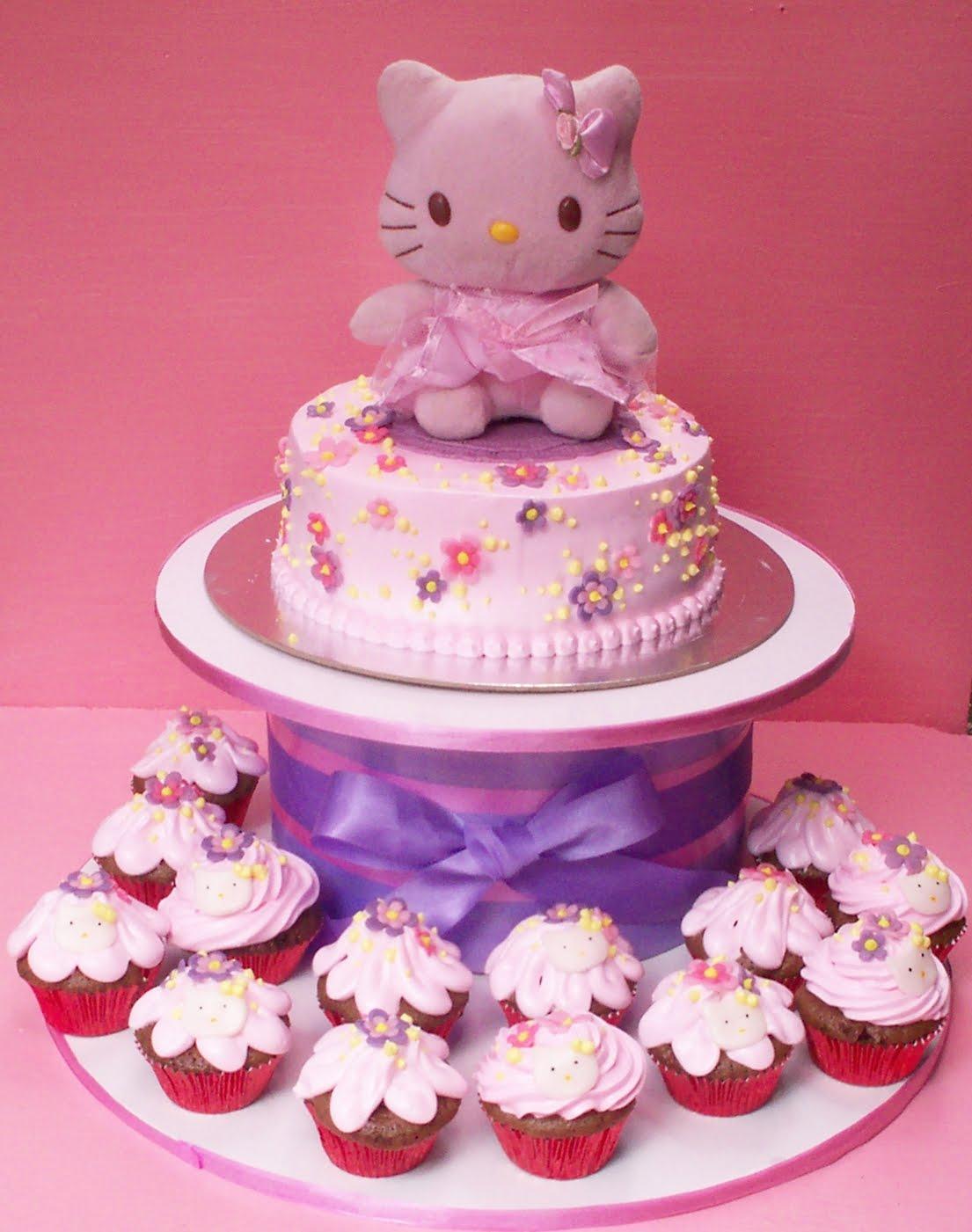Brilliant 8 Pretty Hello Kitty Cakes Photo Hello Kitty Birthday Cake Birthday Cards Printable Benkemecafe Filternl