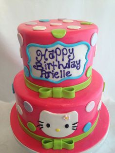 5 Photos of Los Angeles Hello Kitty Cakes