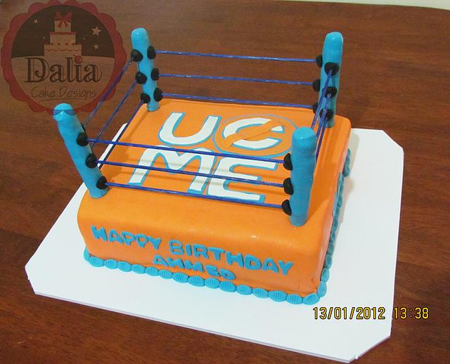 11 John Cena Cakes Photo John Cena Birthday Cake WWE John Cena