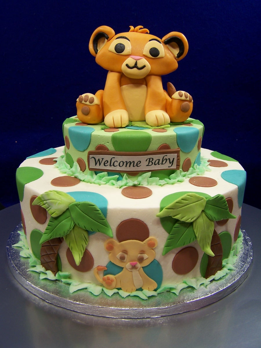 Lion King Baby Shower Cake Ideas