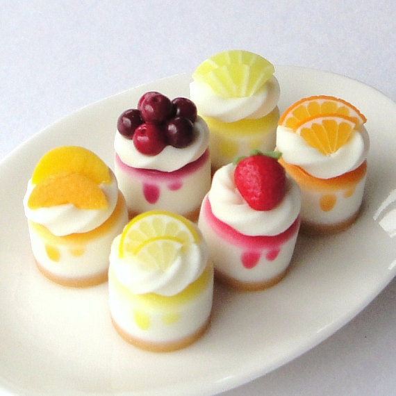 10 Photos of Cheesecakes Mini Desserts With Fruits