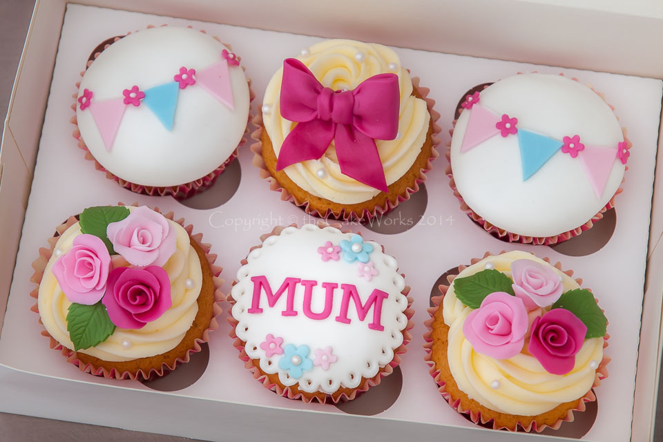 Mother's Day Cupcake Cake Ideas