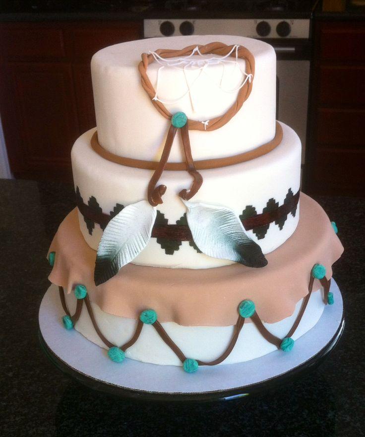 10 American Indian Wedding Cakes Photo Native American Cake