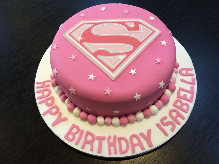 12 Super Girl Cakes Photo