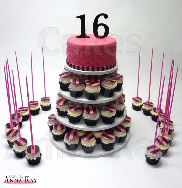Superb 11 Cupcake Birthday Cakes 16 Years Old Photo 16 Year Old Funny Birthday Cards Online Alyptdamsfinfo