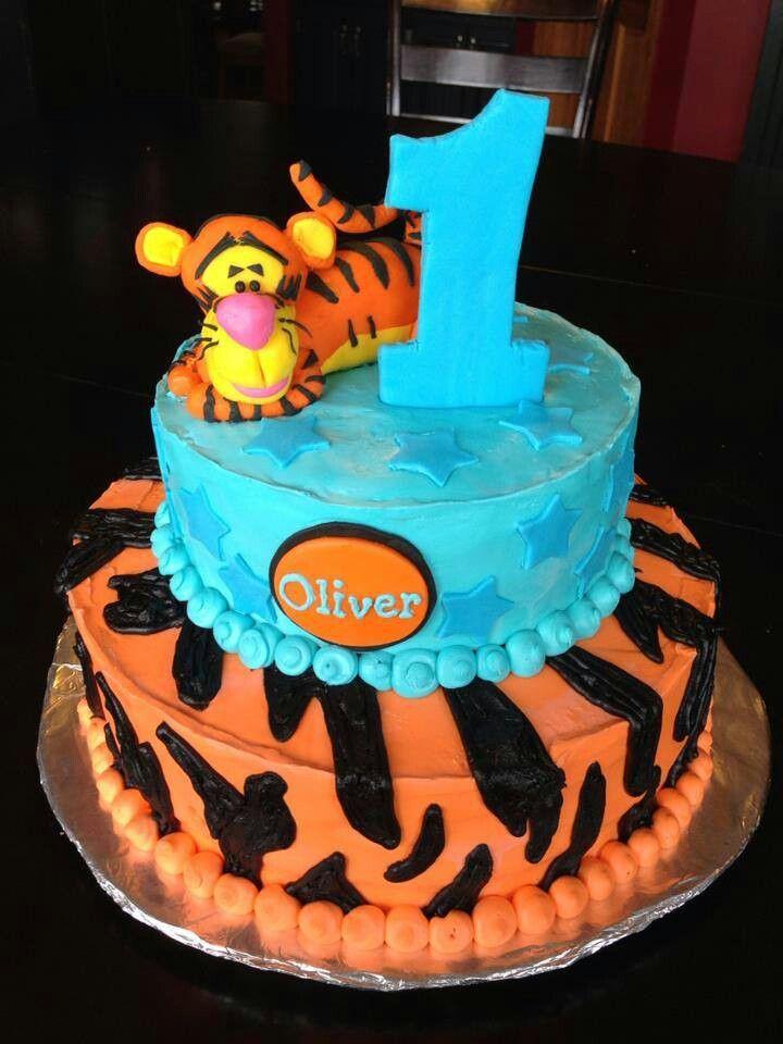 11 Tigger Bday Cakes Photo