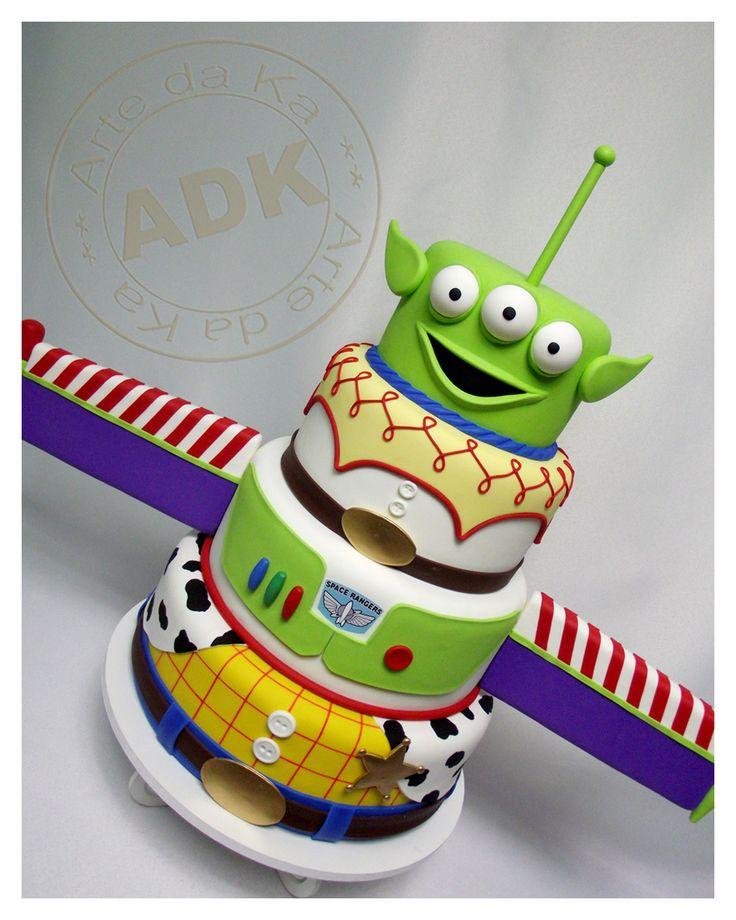 11 Photos of Pinterest Toy Story Cakes