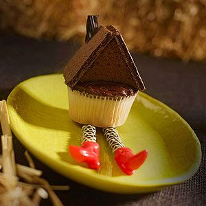 7 Photos of Halloween Graham Cracker Cupcakes