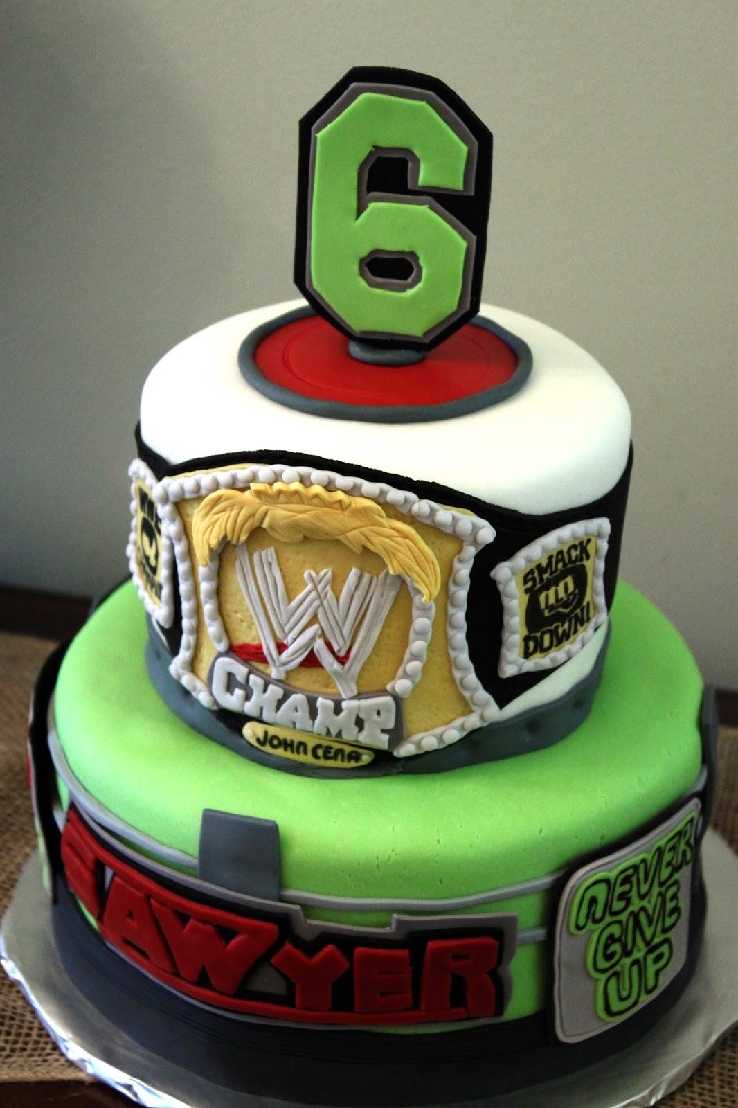 WWE Edible Birthday Cake Topper OR Cupcake Topper, Decor
