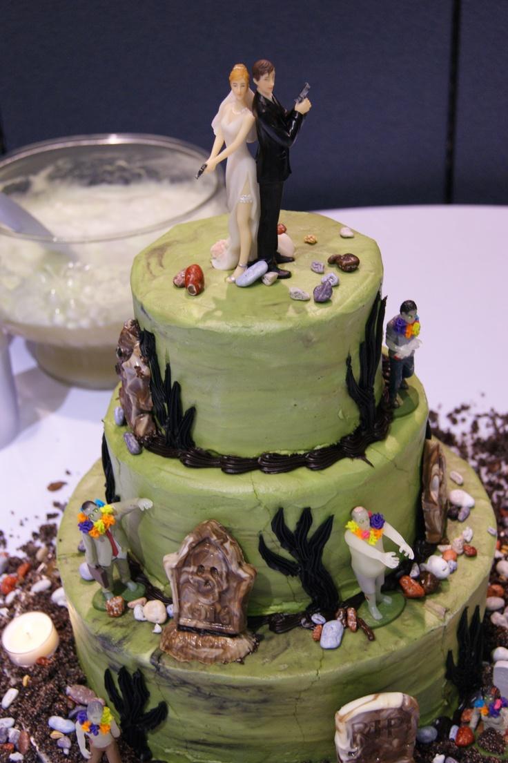 10 Apocalypse Wedding Cakes Photo