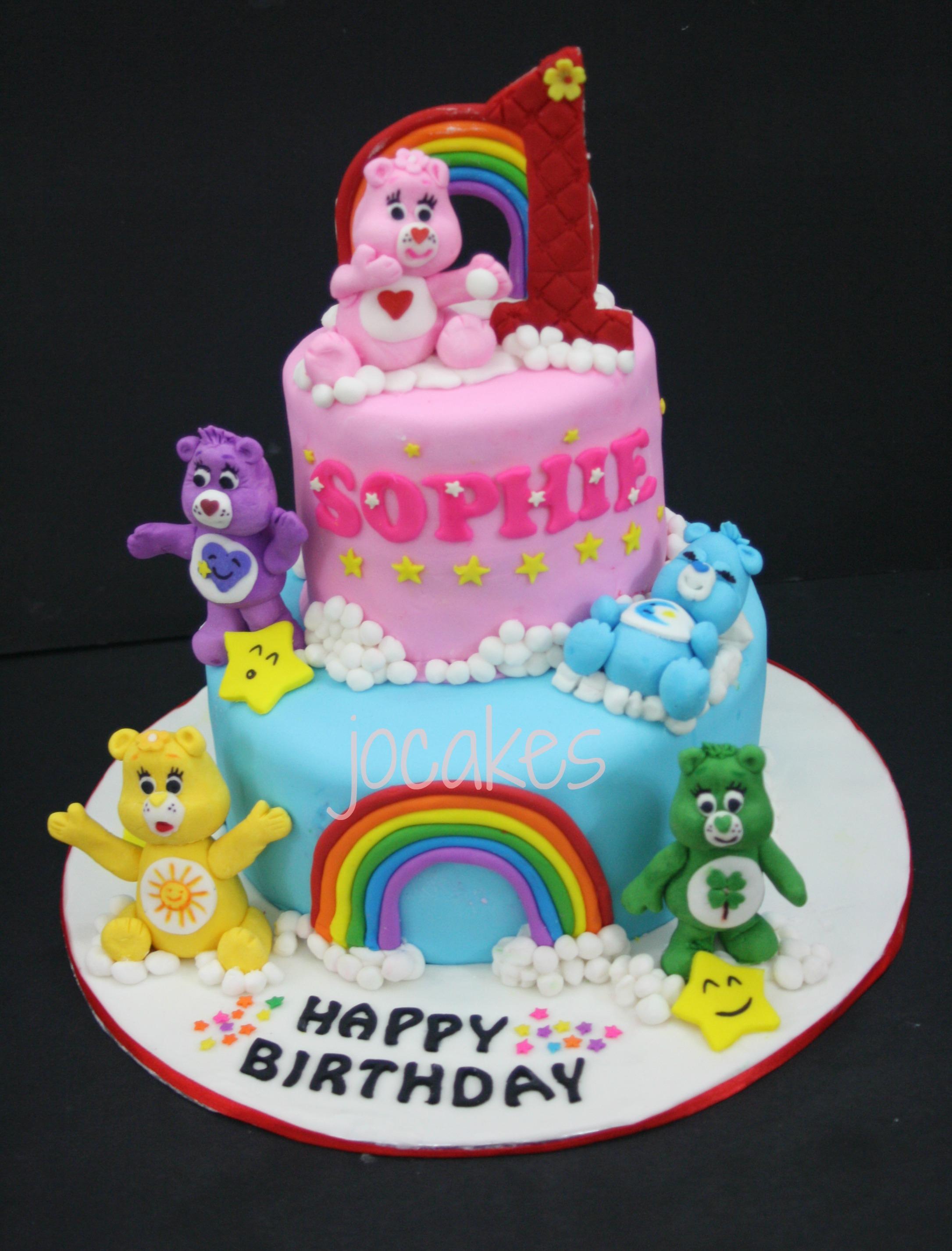 1 Year Old Girl Birthday Cake
