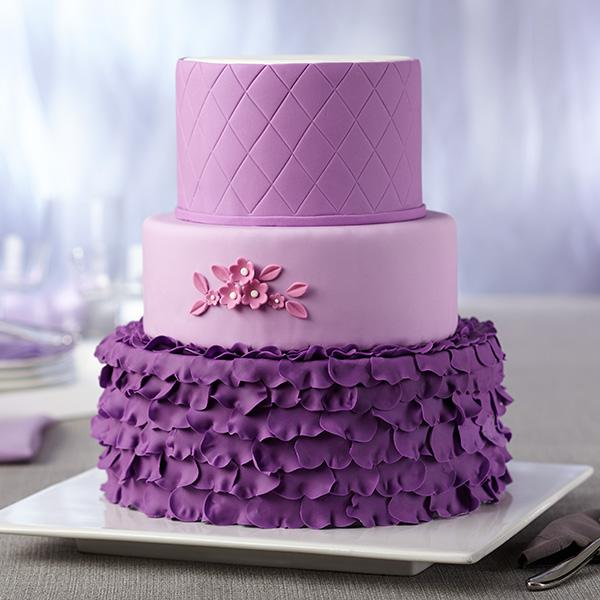 5 Photos of Purple Fondant Cupcakes