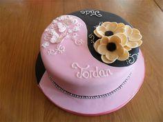 Adult Twins Birthday Cake