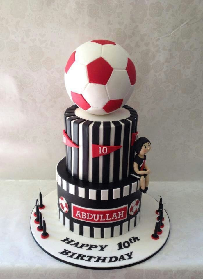 Awesome Soccer Cake