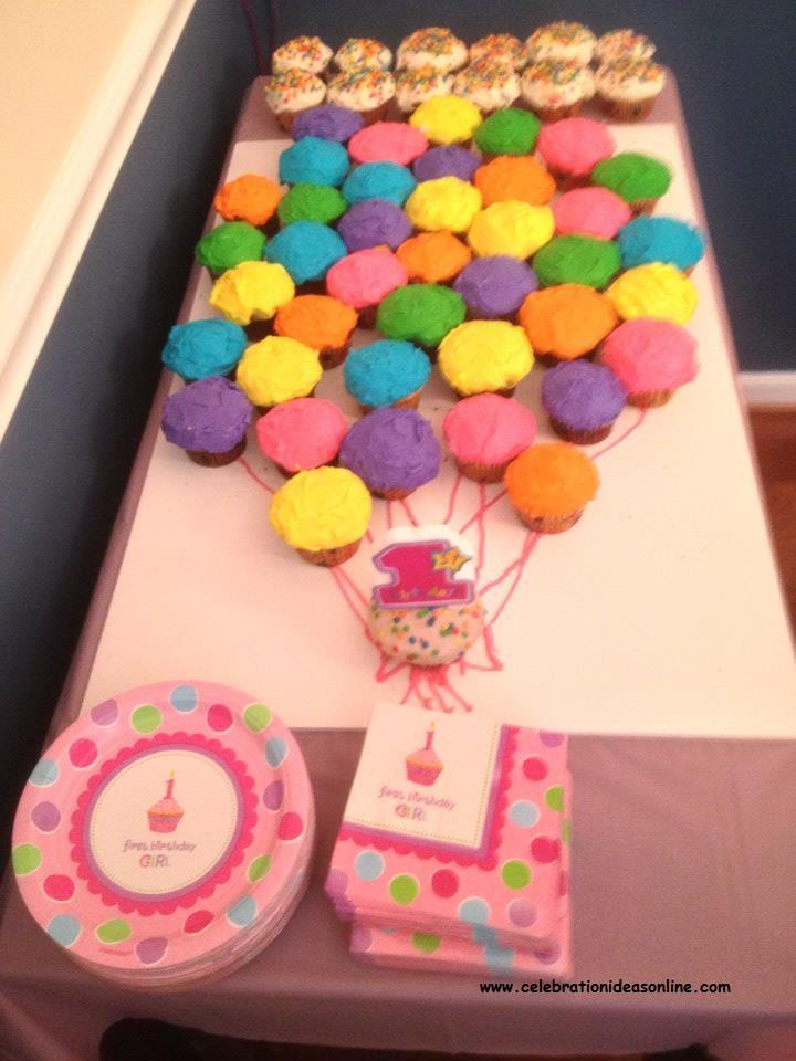 Baby Shower Cupcake Idea