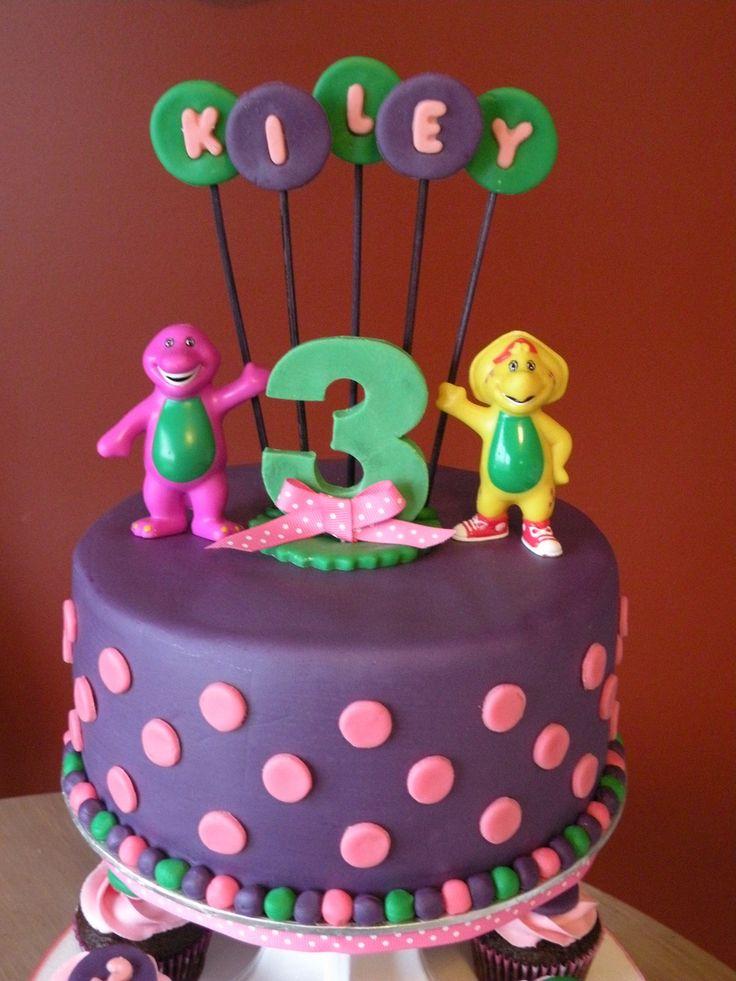 Sensational 10 Barney Cakes Frosting Photo Barney Birthday Cake Ideas Cake Personalised Birthday Cards Cominlily Jamesorg