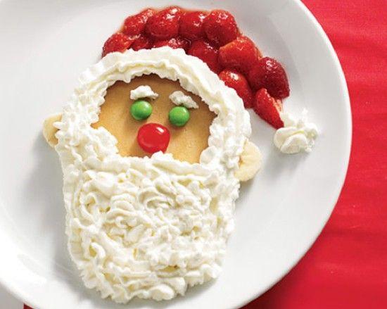 8 Photos of Decorated As Santa Pancakes