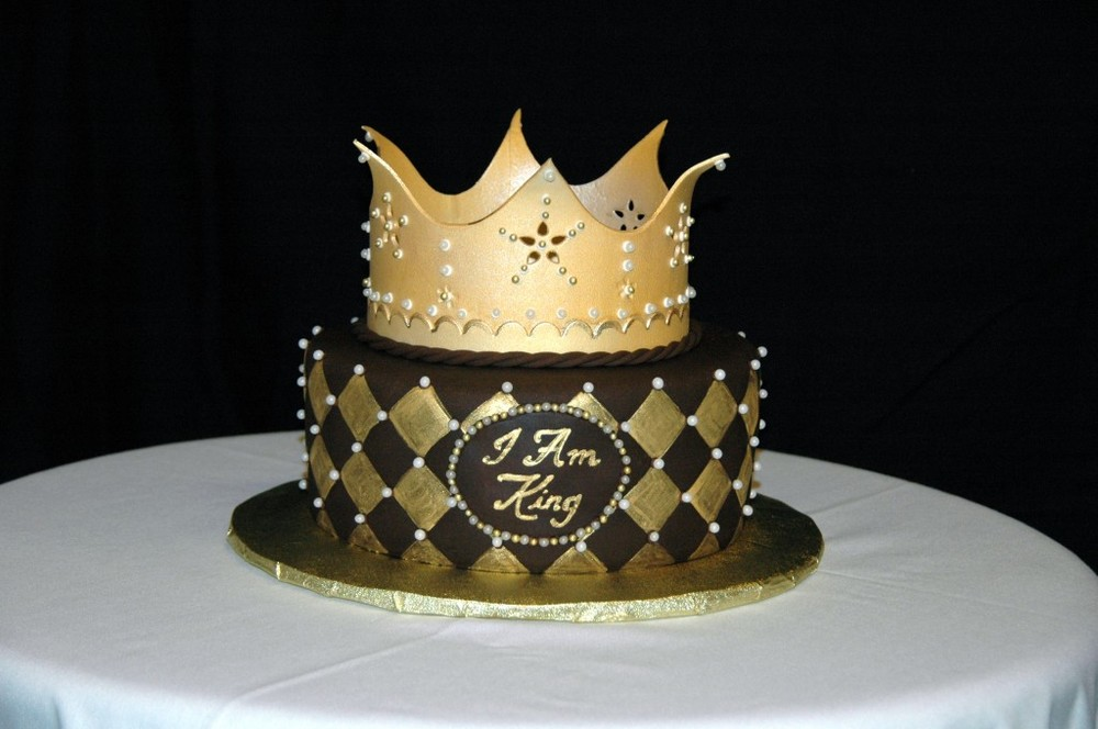 12 Crown Custom Cakes Photo Crown Birthday Cake Ideas Fancy