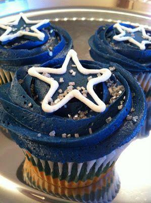 Dallas Cowboys Cupcake Cake