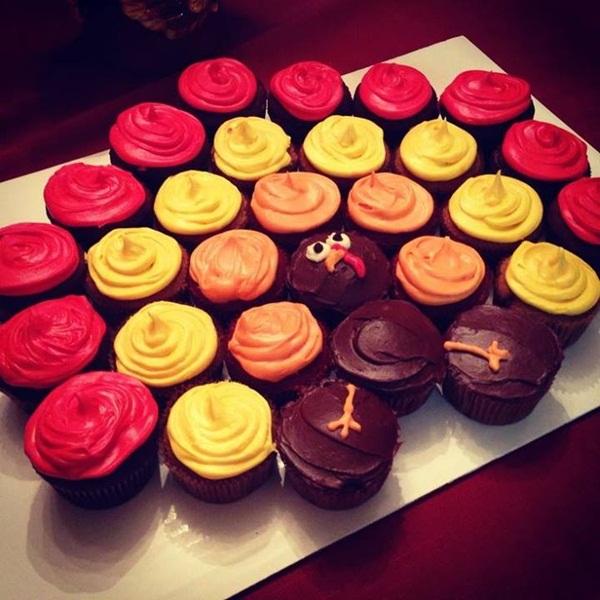 12 Photos of Cute Design Thanksgiving Cupcakes