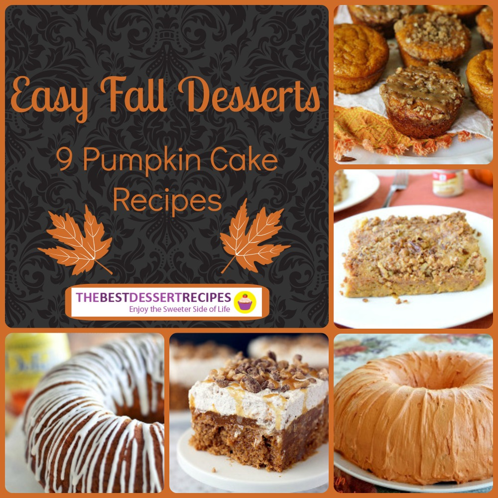 10 Photos of Fall Desserts Or Cakes