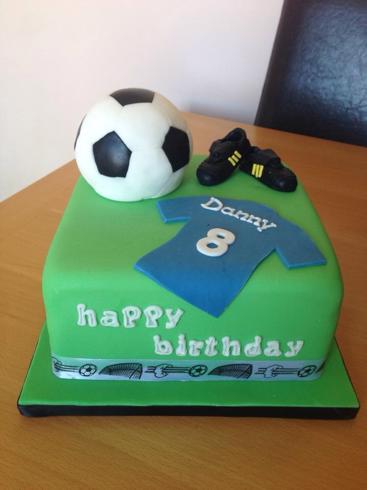 Enjoyable 12 Football And Soccer Birthday Cakes Photo Football Birthday Birthday Cards Printable Giouspongecafe Filternl