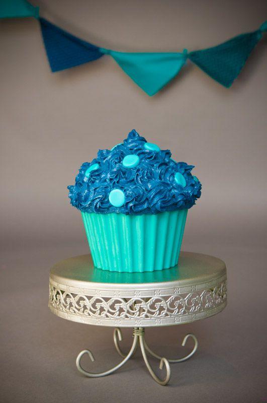 6 Smash Cakes Blue Navy Photo Giant Cupcake Smash Cake Boy Navy