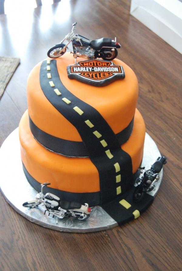 12 Lucys Great Cakes Harley Cake Photo Harley Davidson Cake