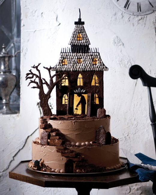 Haunted House Cake Templates