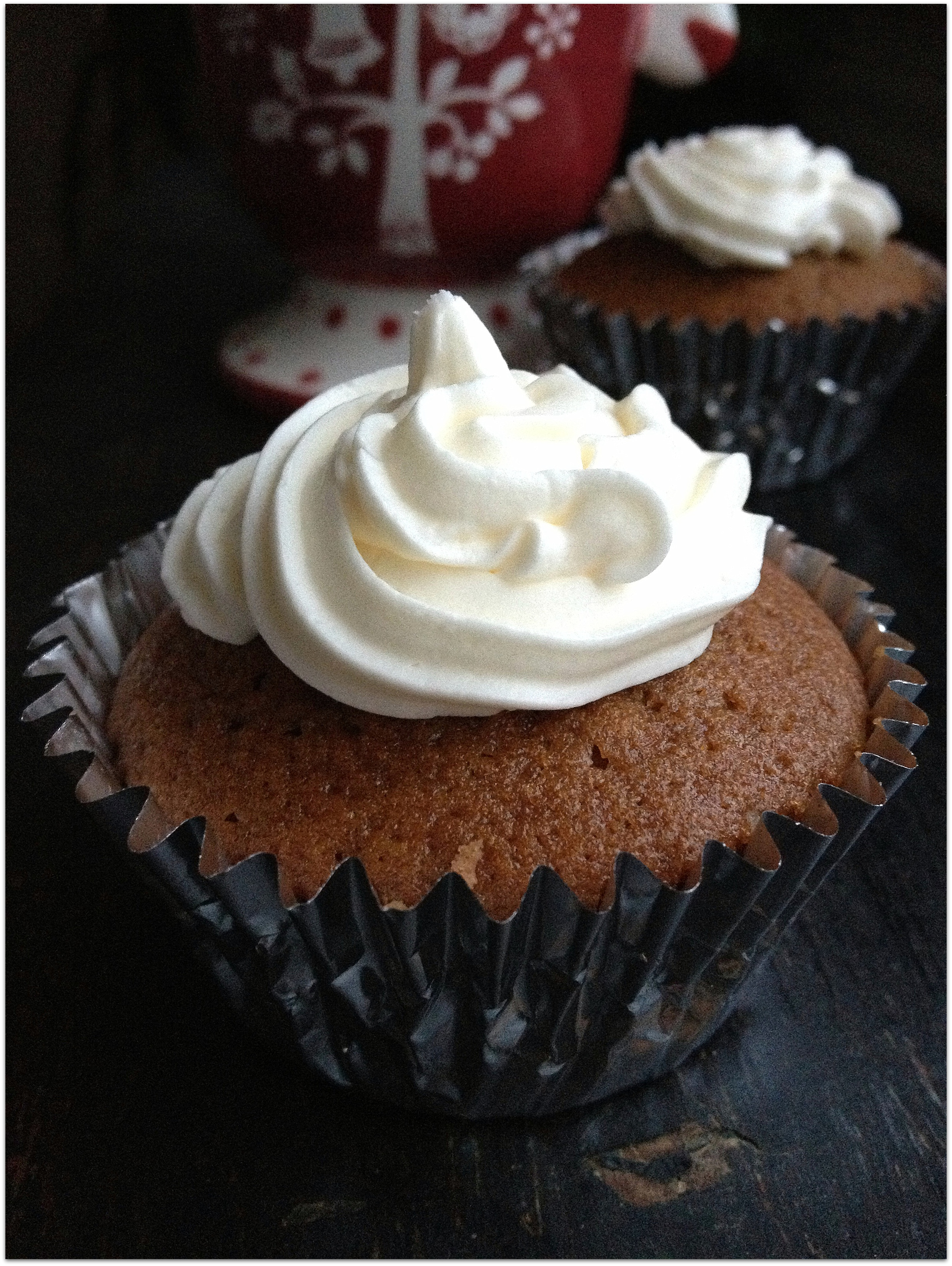 Hot Cocoa with Marshmallow Frosting Cupcakes