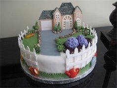 10 House Warming Themed Cakes Photo Housewarming Party Theme Ideas