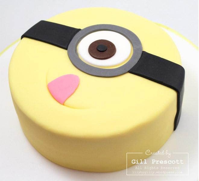 12 Photos of Minion Cakes For Boys