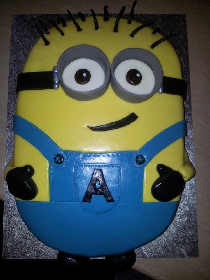 Stupendous 12 Minion Cakes For Boys Photo Minion Birthday Cake Minion Funny Birthday Cards Online Unhofree Goldxyz