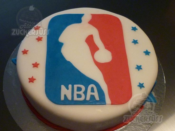 13 Nba Basketball Cakes Photo Nba Basketball Birthday Cake