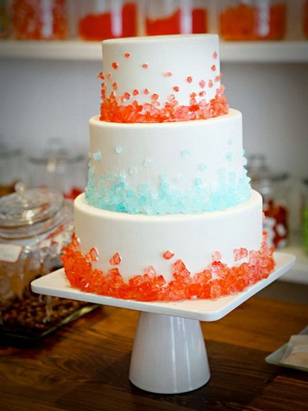 7 simple wedding cakes to make at home photo simple wedding cake orange simple wedding cakes junglespirit Gallery