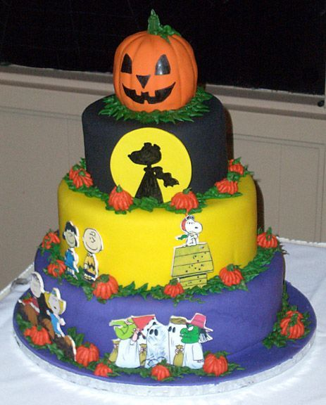 Peanuts Great Pumpkin Cake