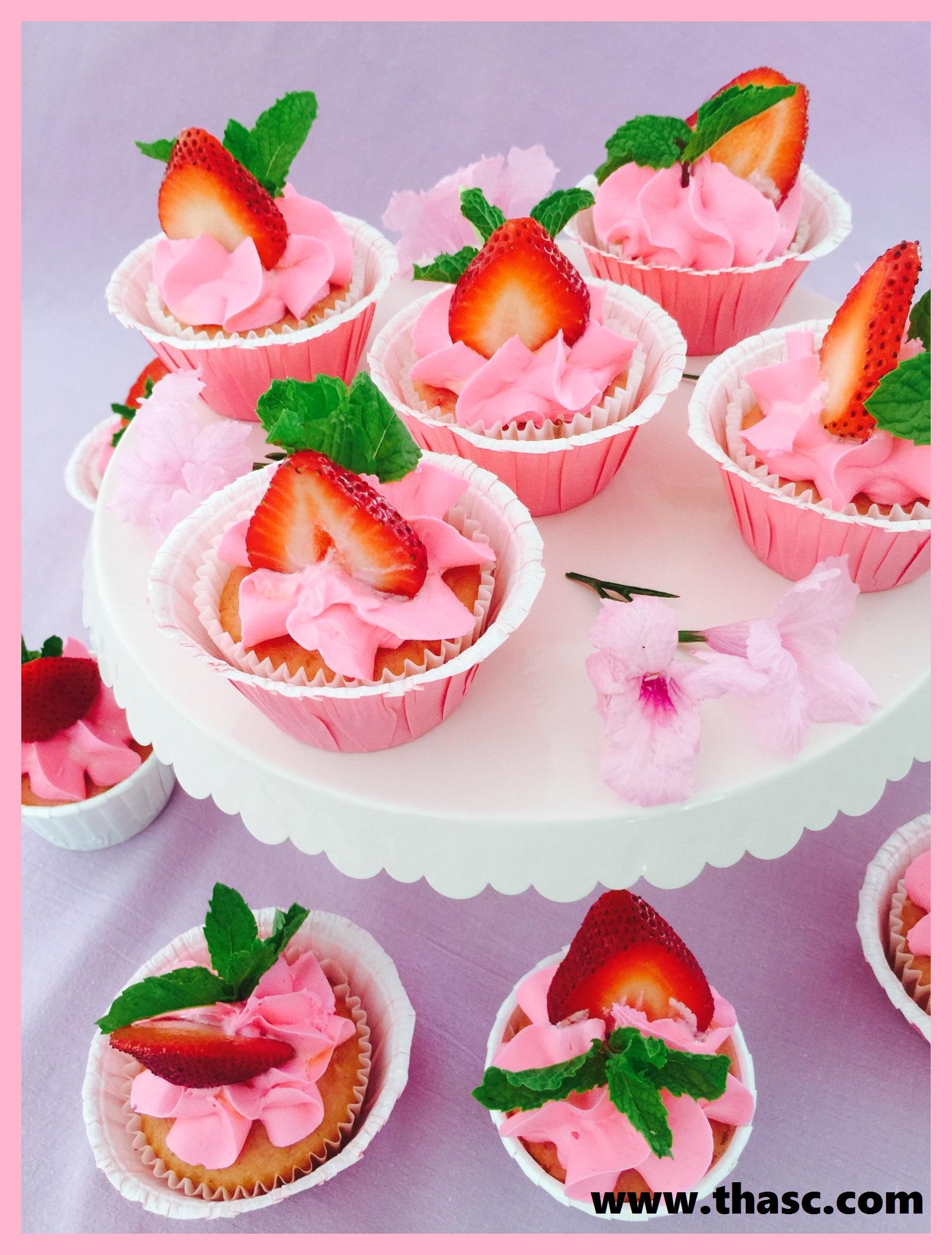 Pink Princess Mini Cupcakes