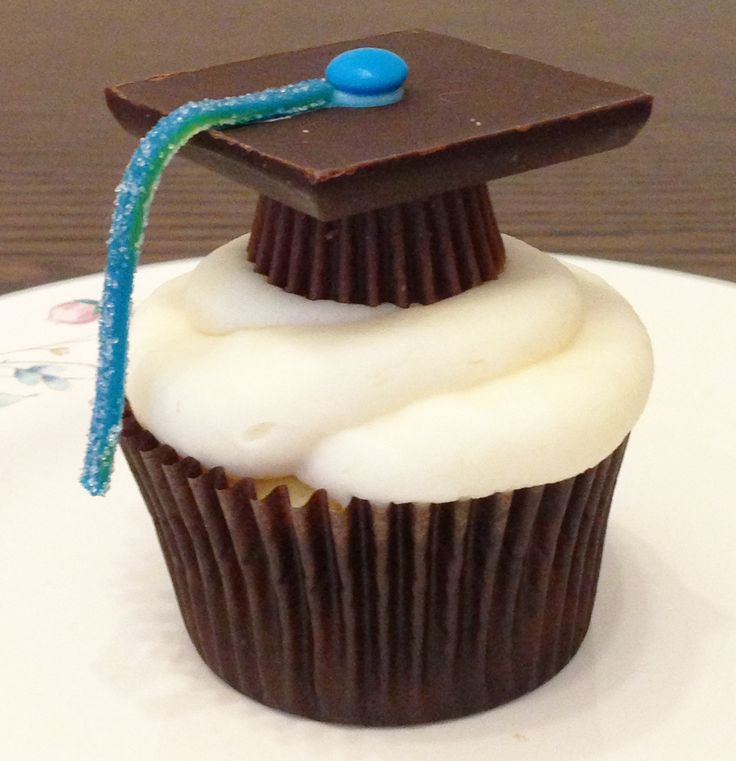 9 Photos of Red And Blue Graduation Cupcakes