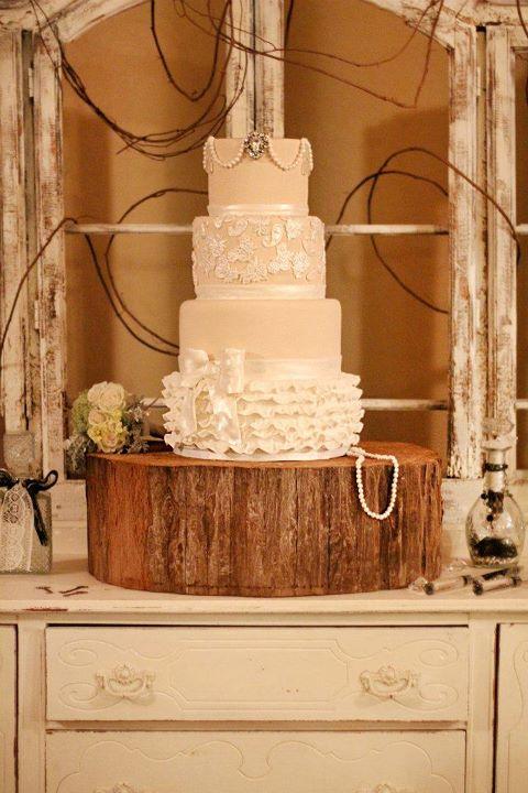 10 Country Sheek Wedding Cakes Photo - Shabby Chic Country Wedding ...