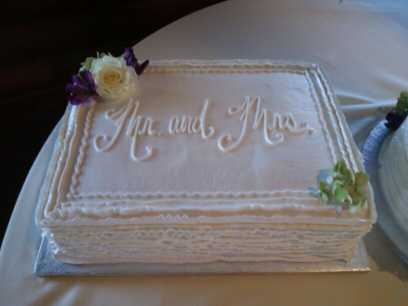 Sheet Wedding Cake Ribbon